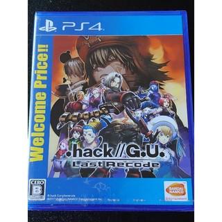 PlayStation4 - .hack//G.U. Last Recode(Welcome Price!!)