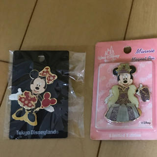 Disney - ディズニー ピンバッジ ミニーマウス