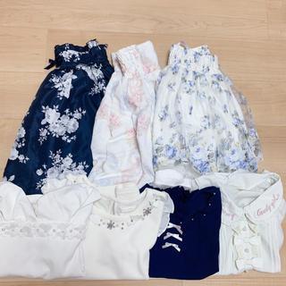 LIZ LISA - 🎀1着あたり1000円以下🎀量産型ブランド 夏服7着セット