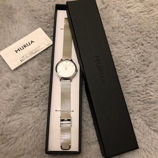 MURUA - 新品未使用 MURUA ムルーア ノベルティ 時計