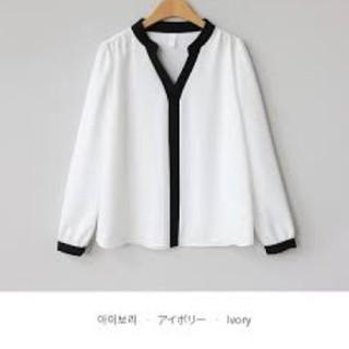 dholic - ホワイトシャツ ブラウス