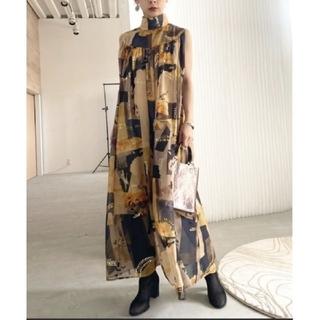 Ameri VINTAGE - 新品タグ付 EMILIE GATHER DRESS M アメリ