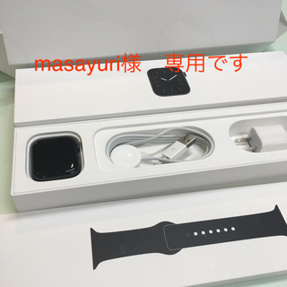 Apple Watch - Apple Watch5 アルミGPS 44mm