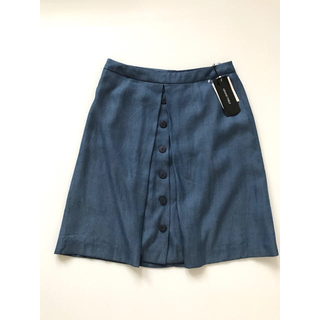 SCOT CLUB - 未使用タグ付き 定価1.1万 GRAND TABLE  ひざ丈スカート ブルー