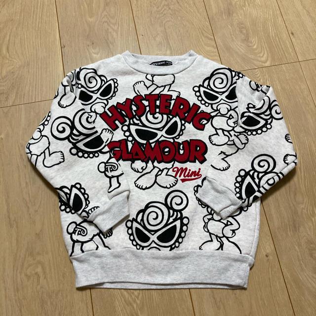 HYSTERIC MINI(ヒステリックミニ)のトレーナー キッズ/ベビー/マタニティのキッズ服男の子用(90cm~)(Tシャツ/カットソー)の商品写真