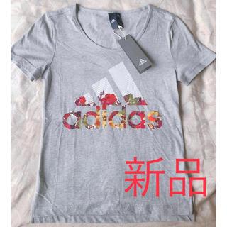 adidas - 新品 adidas アディダス 花柄 半袖 Tシャツ レディース トップス