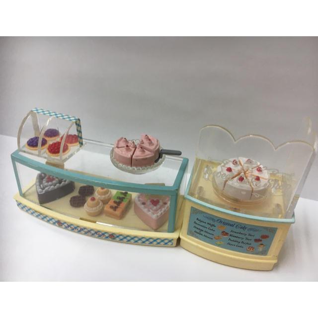EPOCH(エポック)のシルバニアファミリー ケーキ屋さんセット キッズ/ベビー/マタニティのおもちゃ(ぬいぐるみ/人形)の商品写真