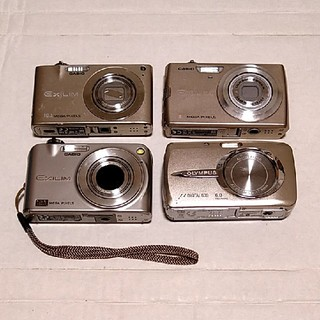 カシオ(CASIO)のジャンク デジタルカメラ 4台セット(コンパクトデジタルカメラ)