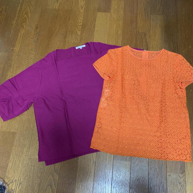 23区(ニジュウサンク)の23区 32 ブラウス カラー 2点セット レディースのトップス(シャツ/ブラウス(半袖/袖なし))の商品写真