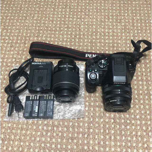 PENTAX(ペンタックス)のPENTAX K-S2 ダブルズームキット 定価69,800(Amazon参照) スマホ/家電/カメラのカメラ(デジタル一眼)の商品写真
