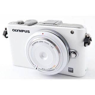 OLYMPUS - ✨可愛いお洒落ミラーレス✨オリンパス OLYMPUS E-PL3✨