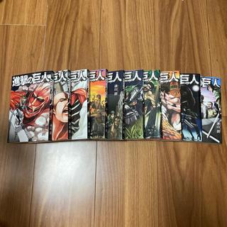 コウダンシャ(講談社)の進撃の巨人1巻〜10巻まで(少年漫画)