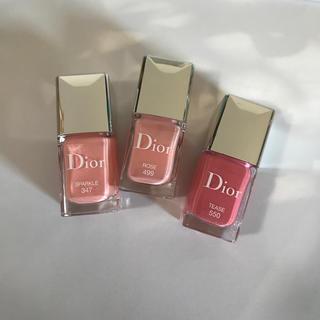 Dior - ディオールヴェルニ 347、499、550