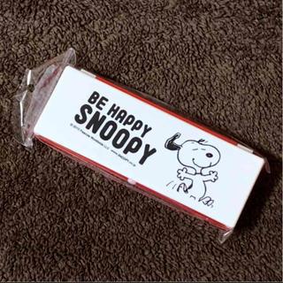スヌーピー(SNOOPY)のPEANUTS スヌーピー ペンケース プラスチック プラペンケース 未使用(ペンケース/筆箱)