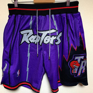 MITCHELL & NESS - just don shorts トロントラプターズ