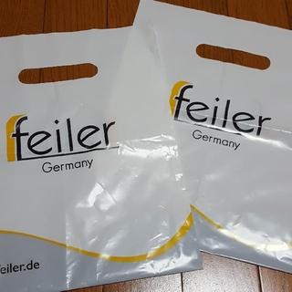 フェイラー(FEILER)のショッパー★ FEILER Germany ショップ袋 2枚セット フェイラー(ショップ袋)