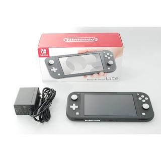 任天堂 - Nintendo Switchライト 任天堂 スイッチライト グレー 本体
