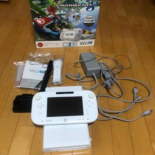 Wii U - Wii U すぐに遊べるマリオカート8セット(シロ)/Wii U/WUPSWAG