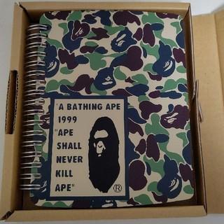 アベイシングエイプ(A BATHING APE)のエイプ 手帳 本 システム手帳 初期 激レア APE(その他)