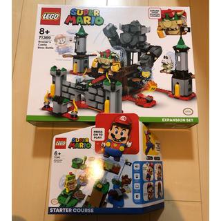 Lego - 2点セット レゴ  71360 マリオ スターターセット クッパ城 71369