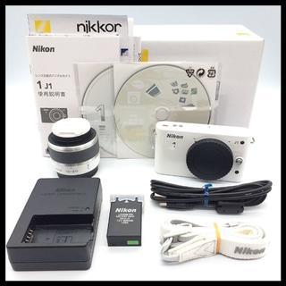 Nikon - Nikon 1 J1 ホワイト 標準レンズキット