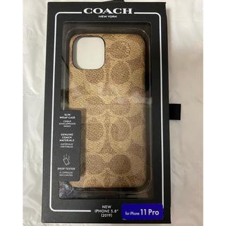 COACH - 💖COACHコーチ💖新品未使用正規品iPhone11proケース
