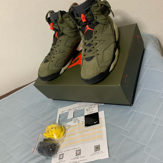 NIKE - Nike×Travis Scott AIR JORDAN 6 RETRO SP