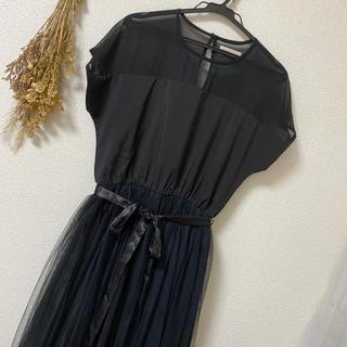 メルロー(merlot)のパーティードレス merlot plus(ロングドレス)