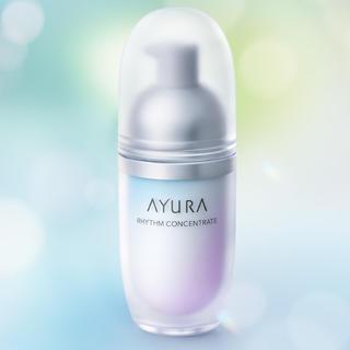 アユーラ(AYURA)のAYURA リズムコンセントレートα 9月1日発売、洗顔料、クリアリファイナーt(サンプル/トライアルキット)