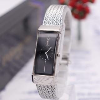 サンローラン(Saint Laurent)の正規品【新品電池】YvesSaintLaurent/5421 ロゴ 動作品 人気(腕時計)