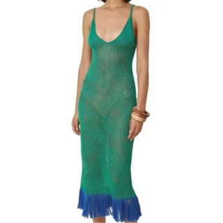 ENFOLD - Green knit one-piece