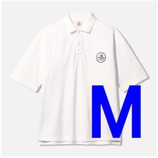 Mサイズ 新品 GU STUDIO SEVEN 超大型店 ビッグポロ ポロシャツ