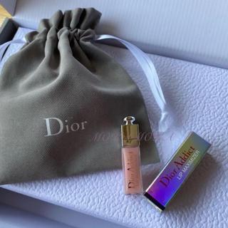 ディオール(Dior)のディオール ミニマキシマイザー 巾着 ショップ袋(リップグロス)