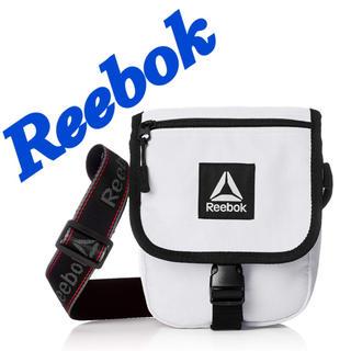 リーボック(Reebok)のReebok ショルダーバック ホワイト(ショルダーバッグ)