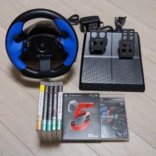PlayStation3 - グランツーリスモ5 ソフト✕ロジクール ハンドルコントローラー
