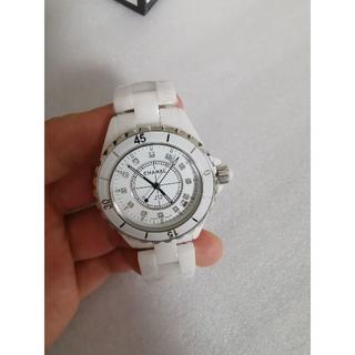 ホワイト  38mm 時計