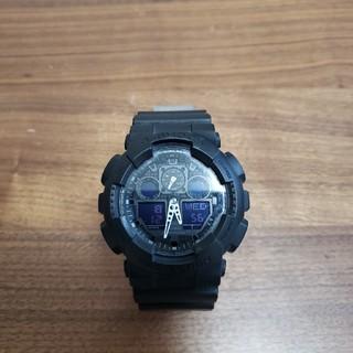 ジーショック(G-SHOCK)のGshock マットブラック CASIO(腕時計(デジタル))
