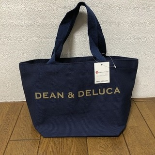 DEAN & DELUCA - 【DEAN&DELUCA】トートバック★ディーン&デルーカ★ネイビーS
