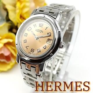 エルメス(Hermes)の2ヶ月保証 美品 エルメス クリッパー CL4.210 レディース 時計(腕時計)