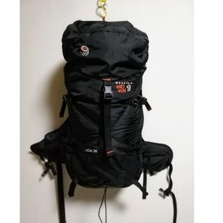 コロンビア(Columbia)のマウンテンハードウェア バックパック KOA35 登山  ブラック 訳あり(登山用品)