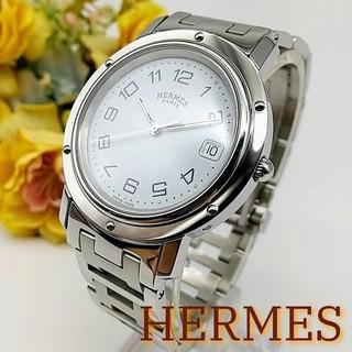 エルメス(Hermes)の2ヶ月保証 美品 エルメス クリッパー CL6.710 メンズ レディース 時計(腕時計)