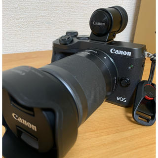 Canon - Canon EOS M6 レンズキット 電子ビューファインダー付き