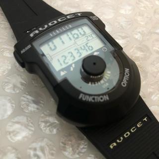 アボセット バーテック アルパイン AVOCET VERTECH 超美品 黒(腕時計(デジタル))