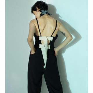 BEAUTY&YOUTH UNITED ARROWS - Belted Linen Jumpsuits