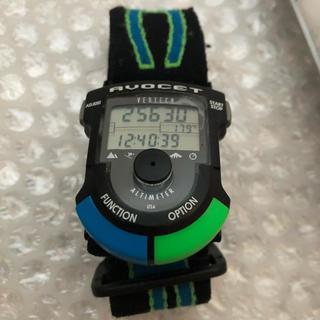 アボセット バーテック アルパイン AVOCET VERTEC レアカラー 青緑(腕時計(デジタル))