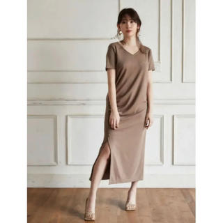 snidel - 【完売品】herlipto Relaxed T-Shirt Long Dress
