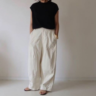DEUXIEME CLASSE - 美品☆argue VINTAGE TWILLCOTTON BAKER PANTS
