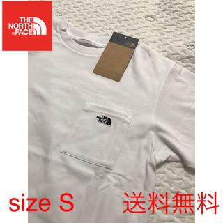THE NORTH FACE - 【新品】THE NORTH FACE ノースフェイス ポケット Tシャツ 白 S