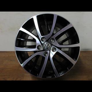 フォルクスワーゲン(Volkswagen)のフォルクスワーゲン17インチアルミホイールゴルフ純正オプション即決価格(タイヤ・ホイールセット)