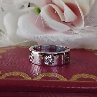 カルティエ(Cartier)の8月13日(木)まで❤️3Cartier ラブリング ハーフダイヤ(リング(指輪))